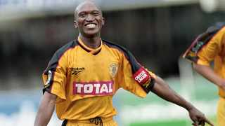 FILE - Robson Muchichwa of Kaizer Chiefs during the 1998/1999 Castle Premiership season. Photo: Gavin Barker/BackpagePix
