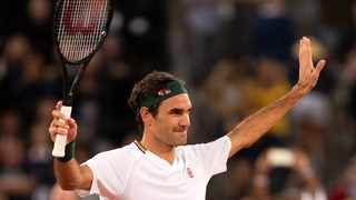 FILE - Roger Federer of Switzerland reacts after beating Rafael Nadal in Cape Town. Photo: Nic Bothma/EPA