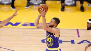 FILE - Stephen Curry #30 of the Golden State Warriors. Photo: Ezra Shaw/Getty Images via AFP
