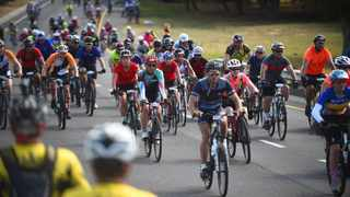 FILE - Thousands attended the annual Cape Town Cycle Tour. Photo: Phando Jikelo/African News Agency(ANA)