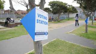 FILE - Voting station in Cape Town. 18.03.10. File photo: Ayanda Ndamane/ African News Agency /ANA