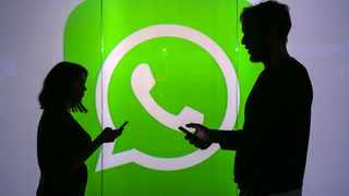 Facebook-owned messaging colossus WhatsApp on Friday retreated again from its plan to force users to accept new terms which critics said could expand data collection from its two billion users around the world. Photographer: Chris Ratcliffe.