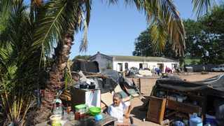 Families evicted from Klein Akker farm are living in harsh conditions on state-owned farm Mesco. Picture: Henk Kruger/African News Agency (ANA).