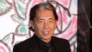 Fashion designer Kenzo Takada died from Covid-19 complications at age 81 near Paris, spokeswoman and reports said. Picture: AP