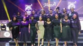 Female members of Joyous Celebration. Picture: Supplied