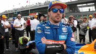 Fernando Alonso is still chasing the Triple Crown of Motorsport. File picture: Michael Conroy / AP.