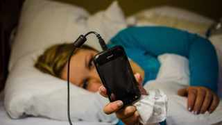 File Photo: Phone and tablet screens are now a mainstay of teenagers' bedrooms.