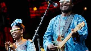 File image - Amadou & Mariam are amongst dozens of Malian musicians who have recorded a song for peace in response to the deepening conflict in their country. (AP Photo/ Polfoto/ Lars Just)