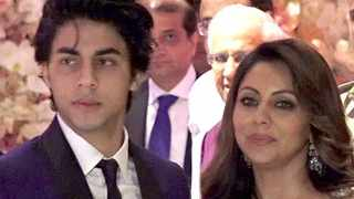File photo: Aryan Khan' pictured with his mother Gauri Khan. Picture: YouTube.com