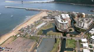 File photo: Entrance to the Durban habour.