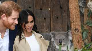 File photo: Harry also spoke about life as a father of two during his visit, admitting he and Meghan are finding it a juggle parenting two kids. Picture: AP