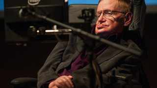 File photo: Hawking said some form of simple life on other worlds seemed very likely, but the existence of intelligence was another matter, and humankind needed to think hard about making contact.