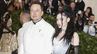File photo: Musk also told the publication that Grimes is currently living with him and their son. Picture: Reuters