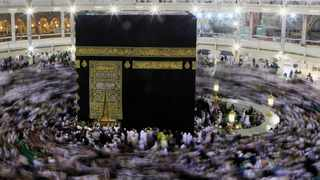 File photo: Muslims circle the Kaaba and pray during their Umrah Mawlid al-Nabawi pilgrimage, at the Grand Mosque in the holy city of Mecca. Picture: Reuters