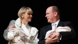 File photo: Prince Albert II and Princess Charlene (L) of Monaco present their baby twins Princess Gabriella and Prince Jacques to the public from the balcony of the Princely Palace, in Monaco, 07 January 2015. Picture: EPA