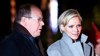File photo: Princess Charlene had planned to join her family back home in October, but due to her latest medical setback, it remains to be seen. Picture: Reuters
