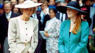 File photo: The Princess of Wales and the Duchess of York Ferguson caused 'a bit of a riot' by dressing as policewomen and gate-crashing the Duke of York's stag party. Picture: YouTube.com