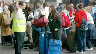 File photo: The government has said that from later in October, arrivals in England will no longer have to take a PCR test two days after arrival and can instead opt for the cheaper lateral flow test. Picture: Reuters