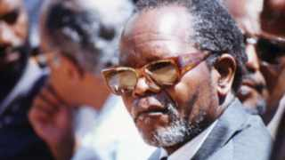 File picture: Oliver Tambo of the African National Congress (ANC). Picture: Sunday Tribune Archives