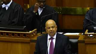 Finance Minister Pravin Gordhan delivering his 2017 Budget Speech in Parliament. Picture: Kopano Tlape/GCIS