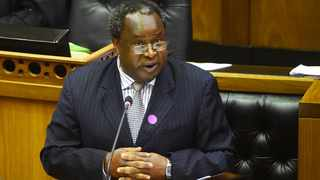 Finance Minister Tito Mboweni tomorrow begins a task to make a compelling case for the government to raise funds to meet the country's Covid-19 vaccination programme. Photograph; Phando Jikelo/African News Agency(ANA)