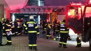 Firefighters were called to respond to a fire in the early hours on Thursday at Cape Town train station. Picture: Henk Kruger / African News Agency (ANA)