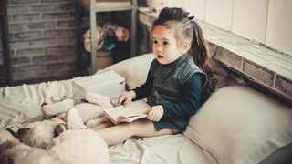 For the parents who do read to their child at night, technology is still a part of that routine. Picture: Pexels