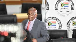 Former Eskom board chairperson Zola Tsotsi at the Zondo Commission of Inquiry into State Capture in Braamfontein. Picture: Itumeleng English African News Agency (ANA)