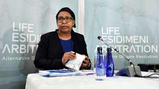 Former MEC for health Qedani Mahlangu. Picture: Itumeleng English/African News Agency (ANA)