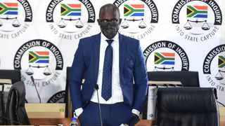 Former Minister of Public Enterprises Malusi Gigaba appeared before the Zondo commission. Picture: Itumeleng English/African News Agency (ANA)
