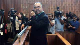 Former Mozambique finance minister Manuel Chang in court. File photo: Nhlanhla Phillips/African News Agency(ANA)