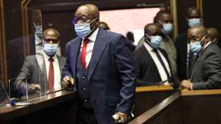 Former President Jacob Zuma arrives in the Pietermaritzburg High Court. Picture: Doctor Ngcobo/African News Agency (ANA)