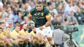 Former Springboks winger Bryan Habana was known for his finishing ability, an eye for intercepting passes and his electrifying pace. Photo: Kim Ludbrook/EPA