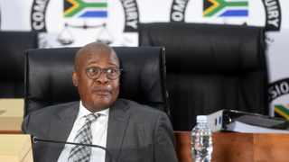 Former Transnet group chief executive Brian Molefe appeared before the Commission of Inquiry into Allegations of State Capture led by Deputy Chief Justice Raymond Zondo. Picture: Itumeleng English/African News Agency (ANA)