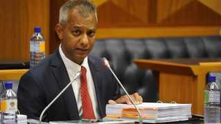 Former Transnet group chief financial officer (GCFO) Anoj Singh took the stand at the Zondo commission. Picture: Henk Kruger/African News Agency (ANA)