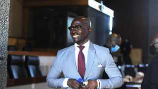 Former cabinet minister Malusi Gigaba giving evidence at the Commission of Inquiry into State Capture. Picture: Nokuthula Mbatha/African News Agency (ANA)