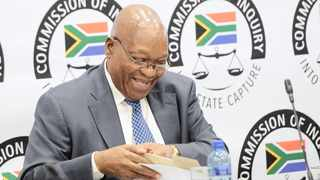 Former president Jacob Zuma at the Zondo Commission in July 2019. Picture: Karen Sandison/African News Agency (ANA)