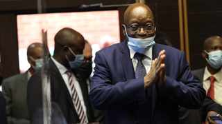 Former president Jacob Zuma is on trial on charges of racketeering, two counts of corruption and 12 counts of fraud. Picture: Doctor Ngcobo/African News Agency (ANA)