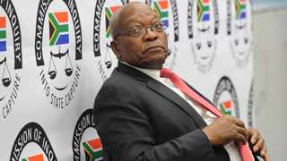 Former president Jacob Zuma testified at the Zondo commission. Picture: Karen Sandison/African News Agency(ANA) Archives
