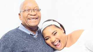 Former president Jacob Zuma with his fiancee Nonkanyiso Conco. Picture: Instagram
