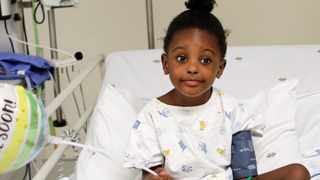 Four-year-old Amara Ngwenya recently received a lifesaving heart operation sponsored by Medipost Holdings and the Netcare Foundation at the state-of-the-art Maboneng Heart and Lung Institute at the Netcare Sunninghill Hospital. Picture: Supplied
