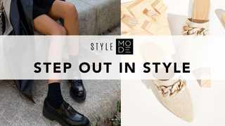 From brogues, pumps and flatform sandals, step up your shoe game as we tap into this season's top footwear trends.