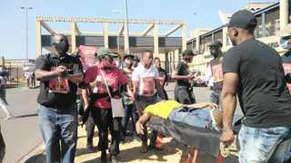 Funeral directors started their three-day national shutdown in Durban in an attempt to force the national Health Department to give in to some of their grievances. Picture: Bongani Mbatha/African News Agency (ANA)