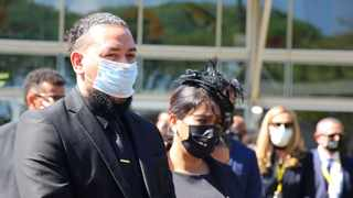 Funeral of the late Anele Tembe fiancée of rapper and entrepreneur Kiernan forbes known as AKA at the Durban ICC. Picture: Nqobile Mbonambi/African News Agency(ANA)