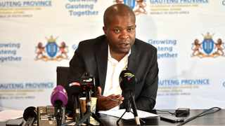 Gauteng Cooperative Governance and Traditional Affairs MEC Lebogang Maile. Picture: Itumeleng English/African News Agency (ANA)