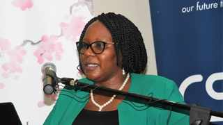 Gina was speaking during her visit to businesses in the Western Cape, as part of the Siyahlola Programme. File photo