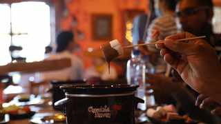 Go on a chocolate dipping experience at Chocolate Heaven at The Junction. Picture: supplied.