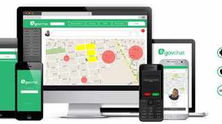 Govchat said that they are very encouraged by the thousands of users that have registered and sent messages. Supplied