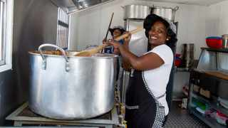 Grain Fields funded a new kitchen at Petsana Primary School near Reitz. Image: Supplied.