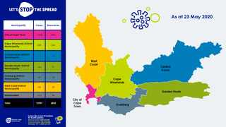 Graphic supplied by the Western Cape Provincial Government